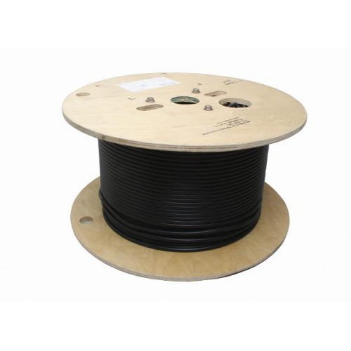 JSC Wire 3020 RG8/U Black Coaxial Cable-500 Foot - Cable & Connectors