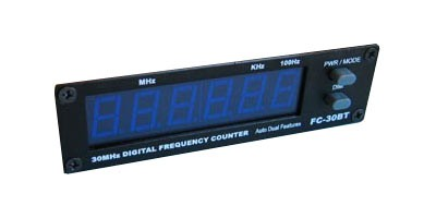 FC-30BT 6 Digit Blue LED Frequency Counter