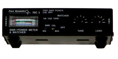 Paradynamics PDC5 SWR/RF Power Meter with Antenna Matcher