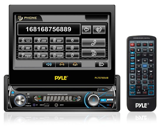 Double din media receiver