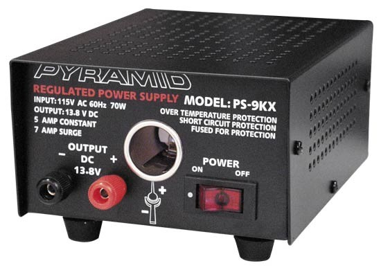 Electronic Equipment Supplies Amp Services : Pyramid ps amp power supply with cigarette lighter