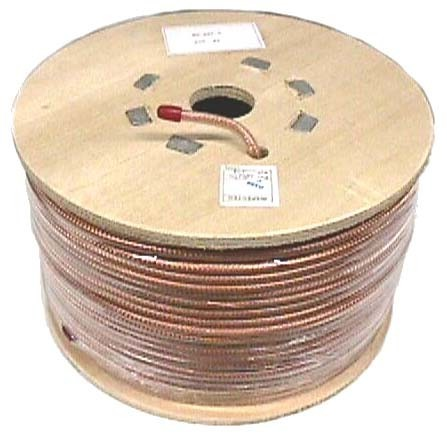 JSC Wire 3060 Mini 8 Coax-Clear-500 Foot - Spools - Cable & Connectors