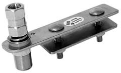 Firestik SS-134A Stainless Steel Flat Bar Mount with Clamp