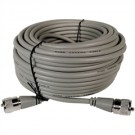 Astatic A8X50 50' Gray Mini 8 Coax w/ PL-259's