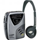 Coby CXD75 Portable Cassette Player