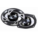 "Dual DS693B 150 Watt 6"" x 9"" Dual Poly Cone Speakers"