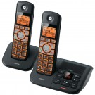 Motorola K702B DECT 6.0 Black Cordless Phone and Answering System