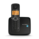 Motorola L601M DECT 6.0 Black Cordless Phone with 1-Handset and Caller ID