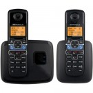 Motorola L702BT DECT 6.0 Black Cordless Phone System with 2 Handsets, Digital Answering System and Mobile Bluetooth Linking