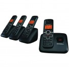 Motorola L704M Dect 6.0 Cordless Phone System With Caller Id, Digital Answering System & Speakerphone (4-Handset System