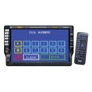 Pyle PLD70BT 7'' TFT Touch Screen Multimedia Disc/VCD/CD/MP3/CD-R/USB/AM/FM/RDS Receiver & Bluetooth System