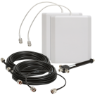 Uniden 3 Way Expansion Kit with 2 Indoor Panel Directional Antenna