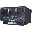 Dosy TB-3001PSW 3 Window 1,000 Watt Lighted Meter with Black Meters