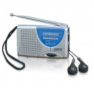 jWin JX-M6 Super Slim AM/FM Radio with Speaker