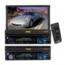 Pyle PLTS76DU 7'' Touch Screen Motorized Detachable TFT/LCD Monitor With Multimedia Disc/CD/MP3/AM/FM Receiver