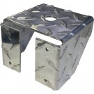 Diamond Plate Truck Box Mount 3/4 INCH Hole